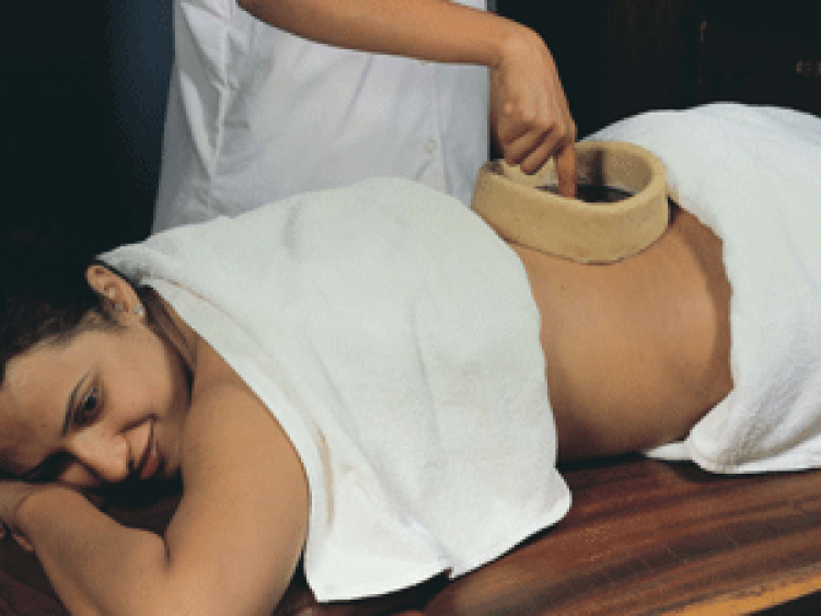 Kati Vasti Kerala Ayurveda Therapy Bangalore India