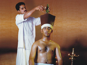 Shirovasti Kerala Ayurveda Therapy Bangalore India